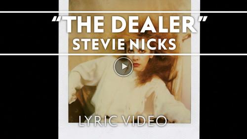 Stevie Nicks new album 24 Karat Gold lyric video The Dealer