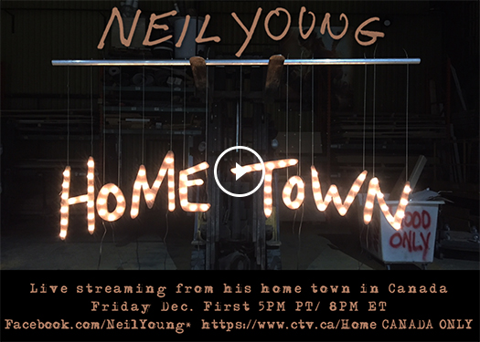 Neil Young Special Performance Artwork