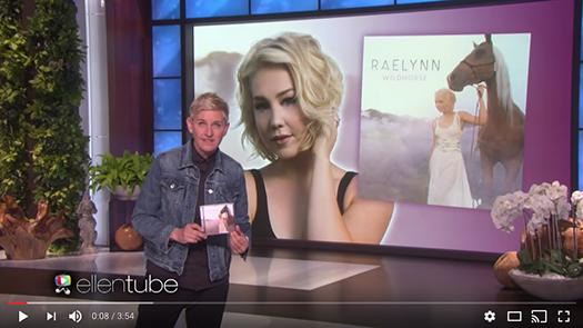 RaeLynn on Ellen!