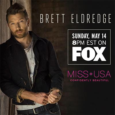 Brett Eldredge Miss USA Performance