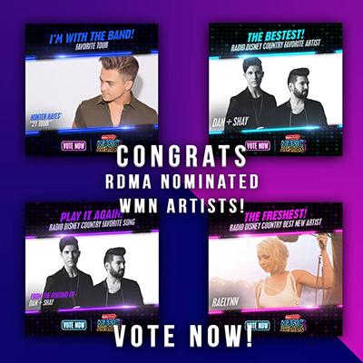 CONGRATS - RDMA Nominated WMN Artists!